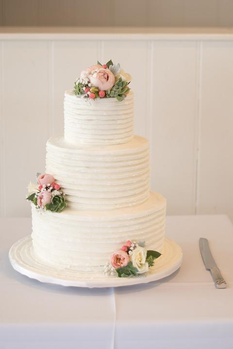 Free Photo Wedding Wedding Cake Cake Sweet Free