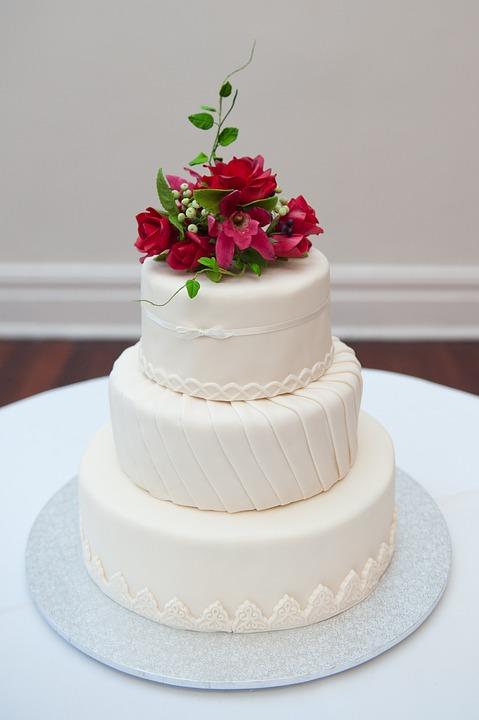 Wedding Cake Sweet White Dessert