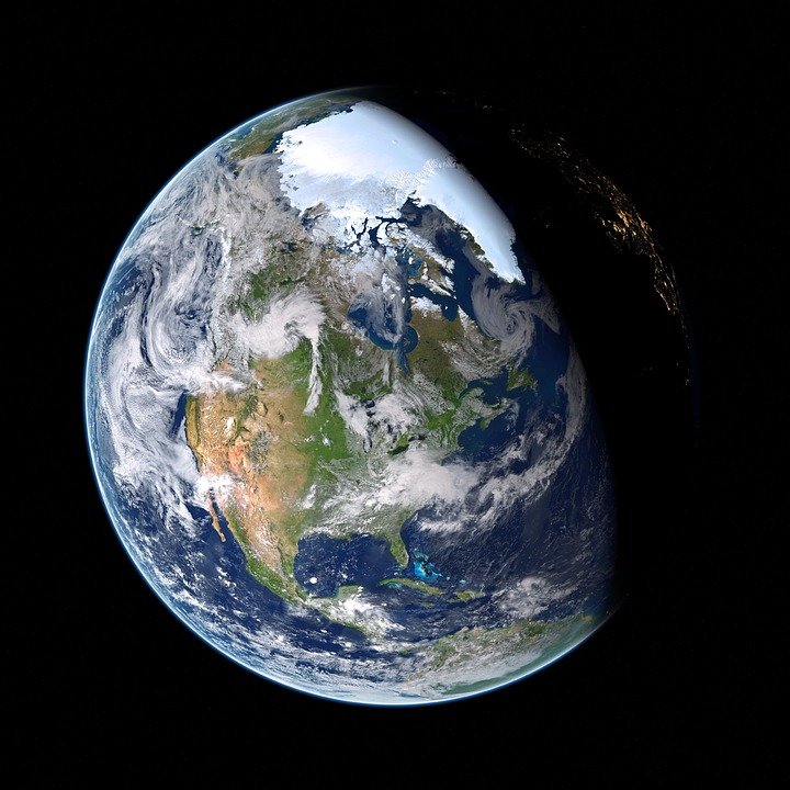 Earth, Planet, Atmosphere, Space, Cosmos, Globe