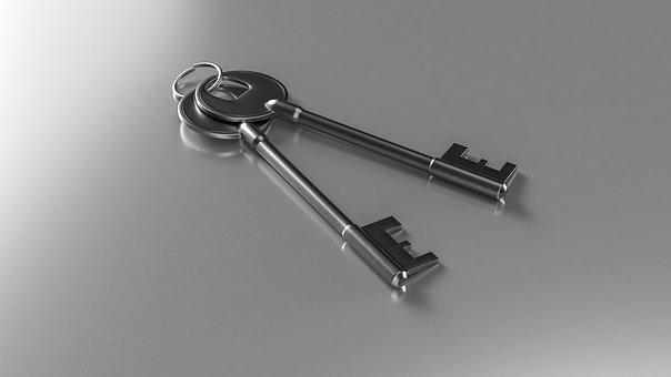 Keys, Solution, Business, Success, Open
