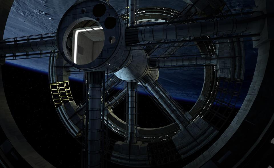 Space Station, Universe, Travel, Spaceship, Interior