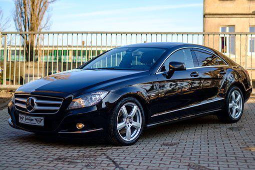 Car Mercedes Cls Auto Transport Design Tra