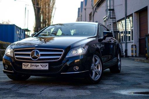 Carro, Mercedes, Cls, Automático