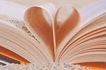 book, heart, love
