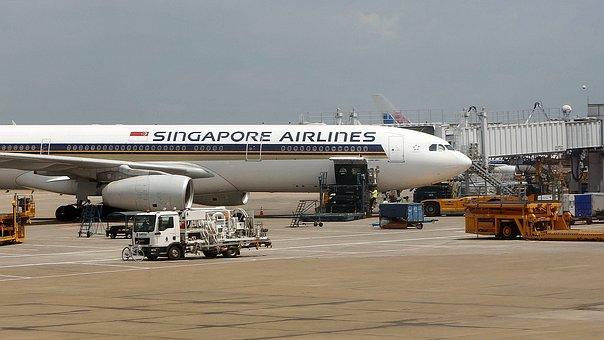 シンガポール航空, 空港, 航空機整備, エアバス, 旅客機, 航空輸送