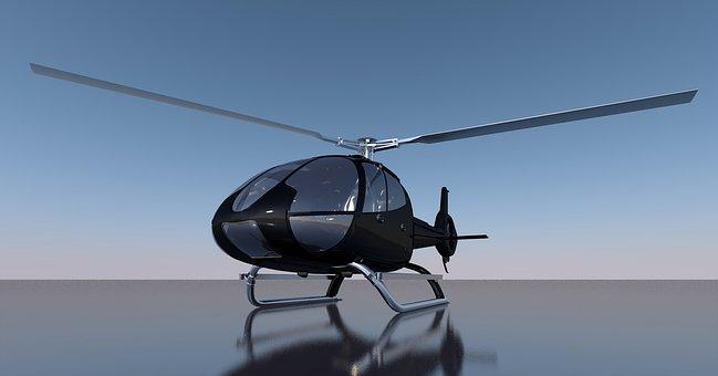 Helicopter, Rotor, Rotors, Aircraft