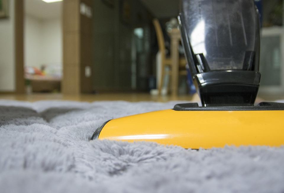 nettoyage moquette aspirateur