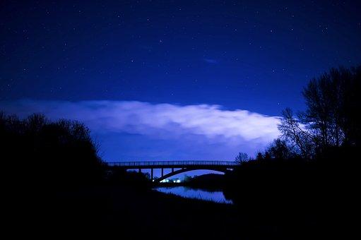 Starry Sky Night Photograph Night Sky