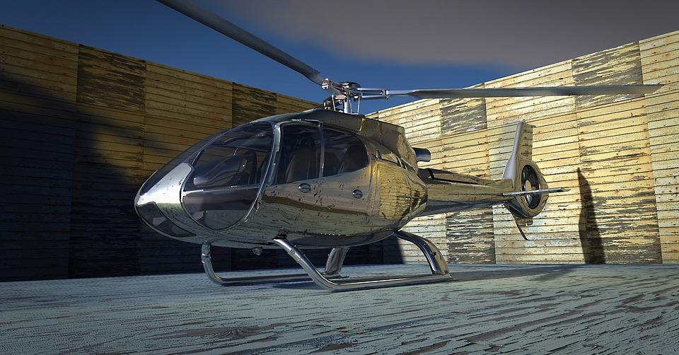 Helikopter, Wirnik, Wirniki, Samolotów, Cockpit
