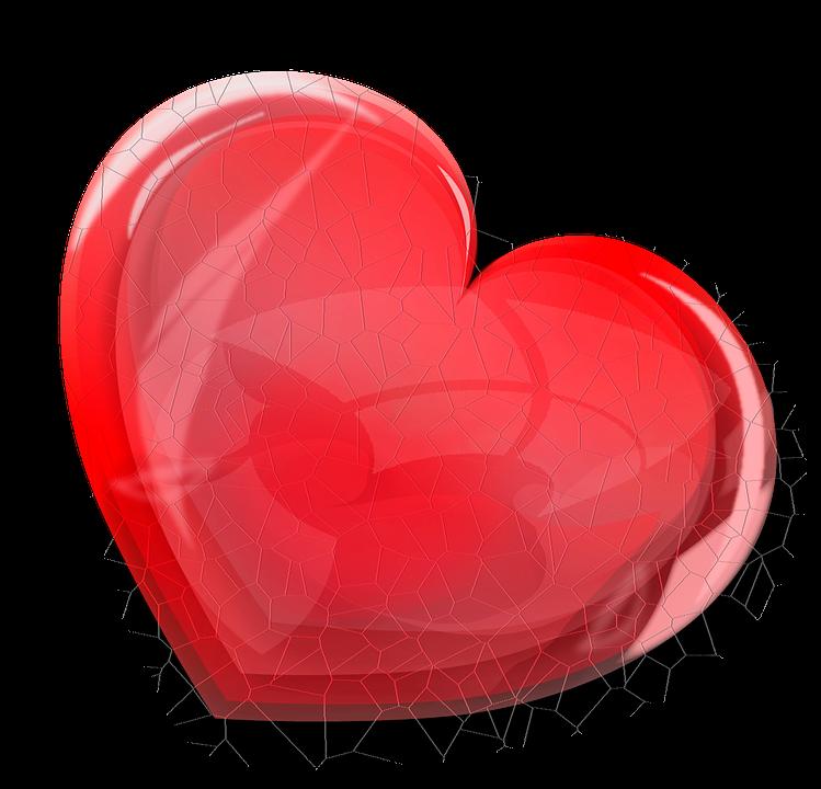 Red Broken Heart Free Image On Pixabay