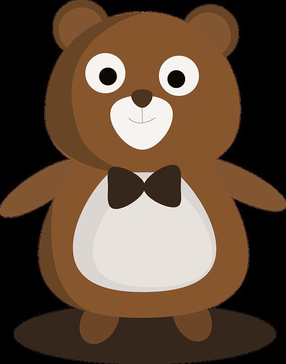 little bear cartoon free image on pixabay rh pixabay com bear cartoon pictures clip art cartoon teddy bear pictures