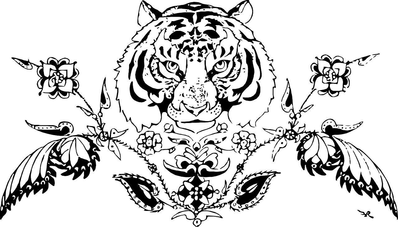 Harimau Hewan Dekorasi Gambar Gratis Di Pixabay