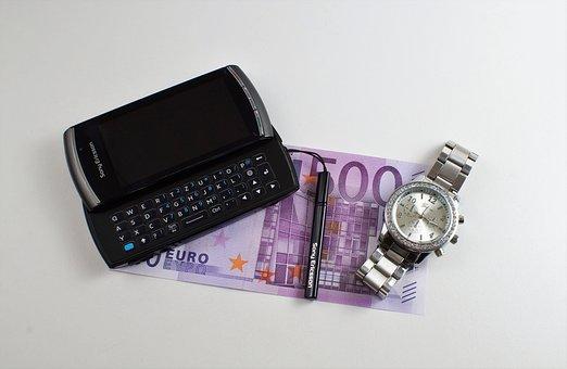 Téléphone Mobile, Professional, Argent