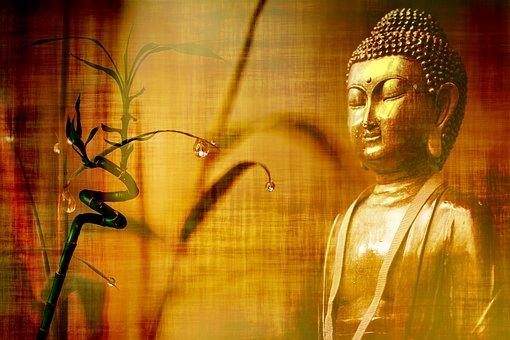 Bamboo, Stationery, Buddha, Wallpaper