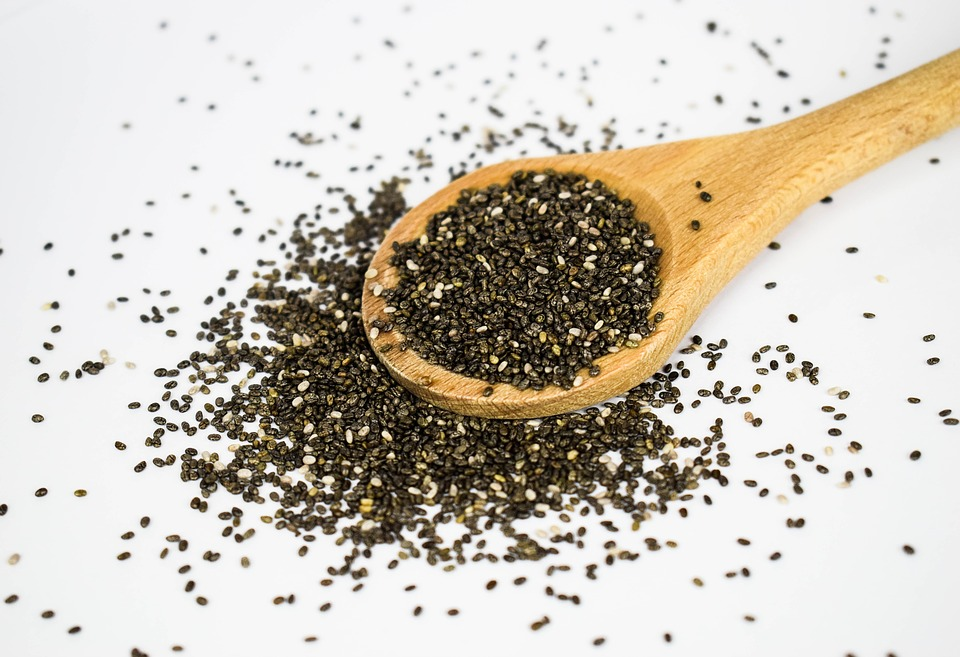 Chia, Seeds, Super Food, Eat, Healthy, Of Course