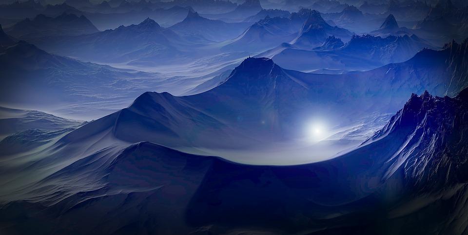 4055d58352 Planeet Fantasiewereld Landschap - Gratis afbeelding op Pixabay