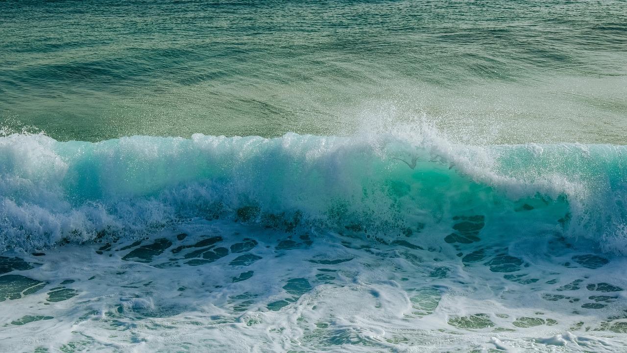 Картинки морская волна изумрудная, открытка днем учителя
