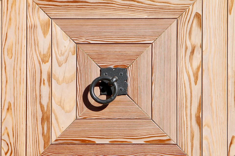 wooden door call waiting ring geometric shape  sc 1 st  Pixabay & Wooden Door Call Waiting Ring · Free photo on Pixabay