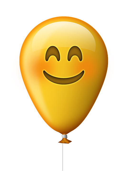 Emoticon Balloon Smile...