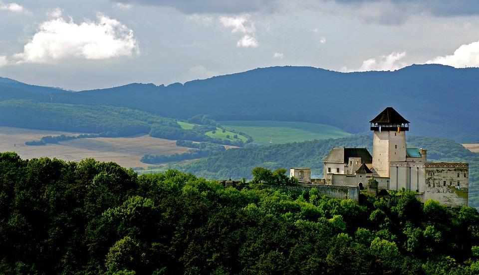Kastély, Priroda, Természet, Szlovákia, Az Ég