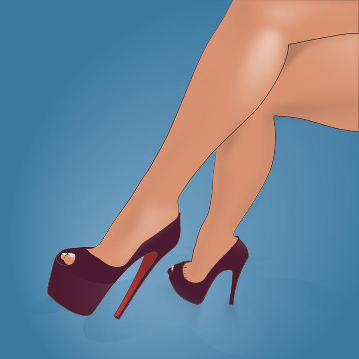 Stiletto Hoge Hiel Schoen Gratis vectorafbeelding op Pixabay