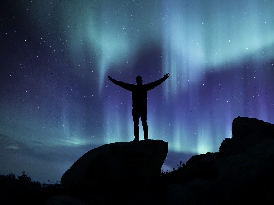 Northern Lights Landscape Aurora 183 Free Image On Pixabay