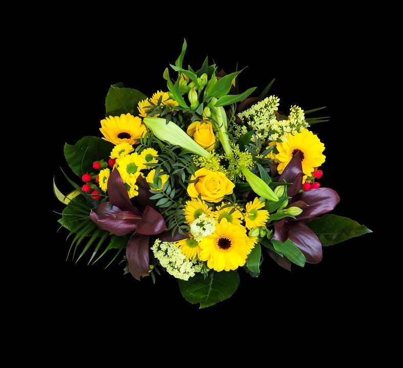 Très Foto gratis: Fiori, Mazzo, Bouquet Di Compleanno - Immagine gratis  SV47