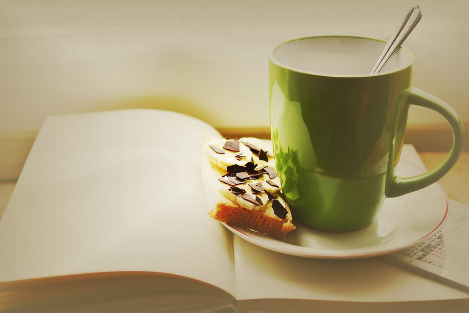 Free photo: Cup, Book, Breakfast, Read, Plan - Free Image on ...
