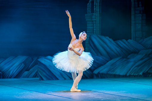Ballett, Schwanensee, Ballerina, Tanz