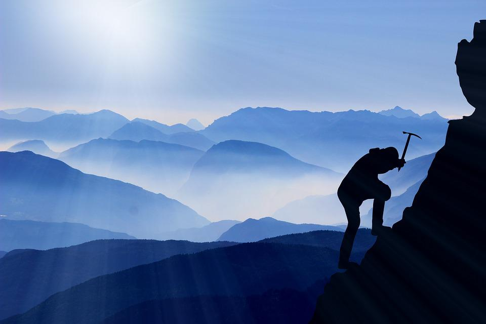 Subir, Montanhismo, Sucesso, Montanhas, Montanhista