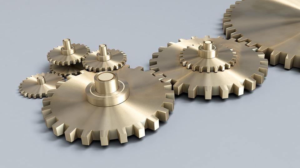 Cog Wheels, Gear, Wheel, Machine, Cogwheel, Mechanism