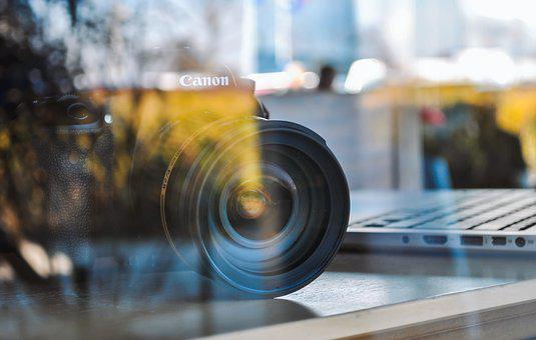 相机, 摄影师, 视频, 数码单反相机, 技术, 内容, 咖啡厅, 工作, 镜头