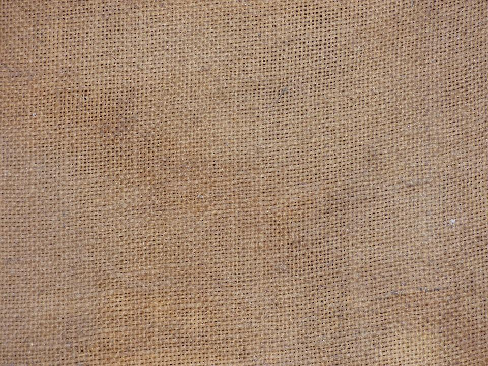 Jute Behang Free Fabric Background Of Dark Yellow Textile Useful As Background Photo With Jute