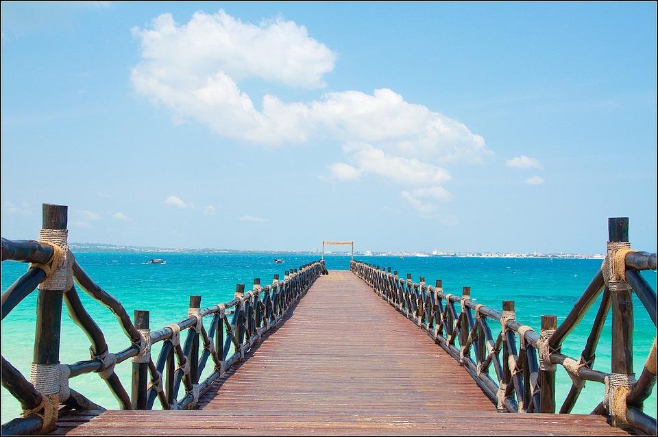 Zanzibar, Stone Town, Slave Island, Pier, Tanzania