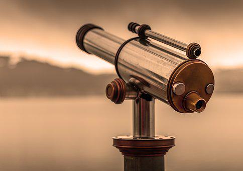 Telescope, By Looking, View, Optics