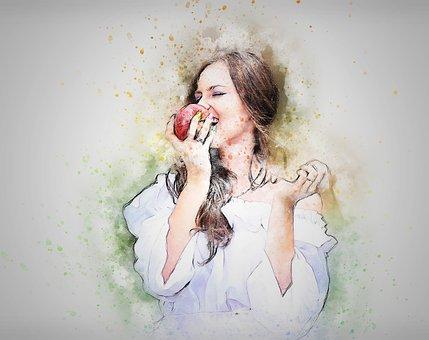 Zeichnung Frau Bilder Pixabay Kostenlose Bilder Herunterladen