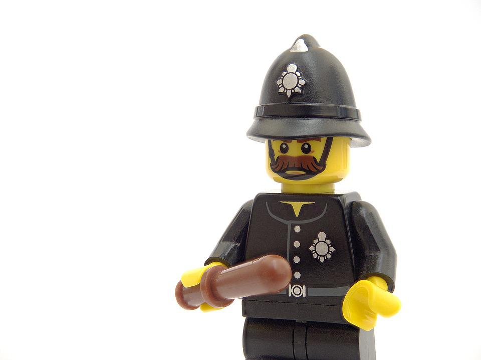 police lego policeman free photo on pixabay