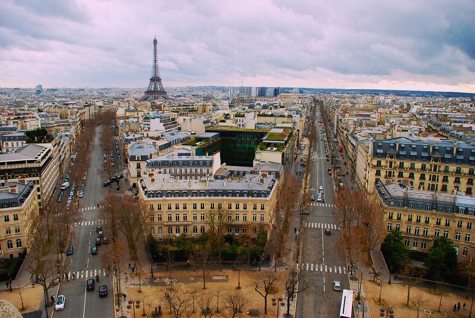 paris france landscape cityscape free photo on pixabay