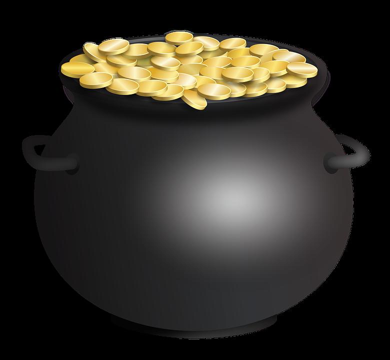 Pot Of Gold St PatrickS Day Free image on Pixabay