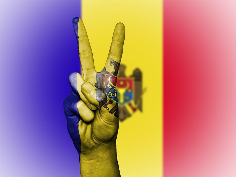 Moldawien, Flagge