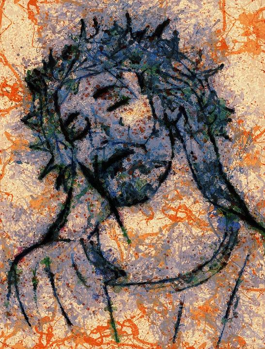 Modern Art Flow Chart: Crucifixion - Free images on Pixabay,Chart