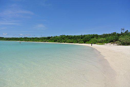 海, 青空, 夏, 海岸, ビーチ, 南の島, 常夏, 石垣島, 石垣島