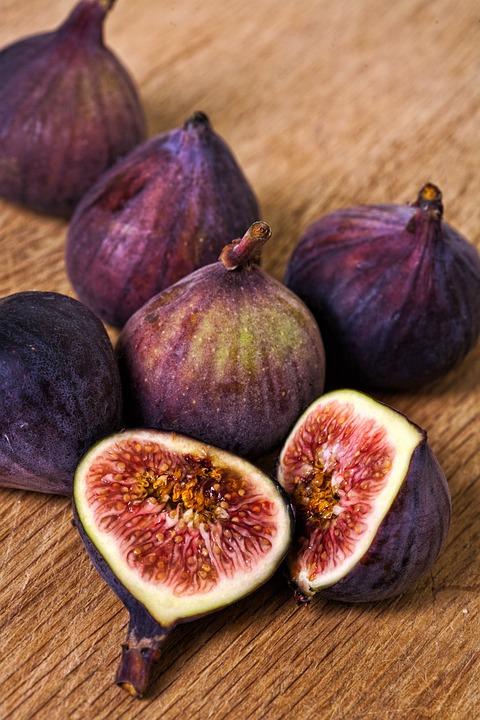 新鮮な, イチジク, 食品, フルーツ, 有機, 熟した, おいしい, ダイエット, 栄養, 菜食主義者