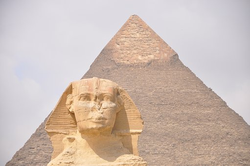 Egypt, Sphinx, Pyramid, Cairo, Giving