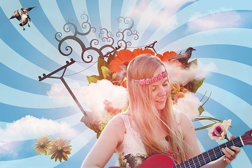 Guitariste Fille, Musique, Artiste