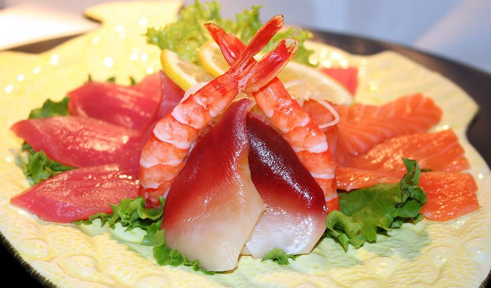 Sushi Fish Raw Free Photo On Pixabay