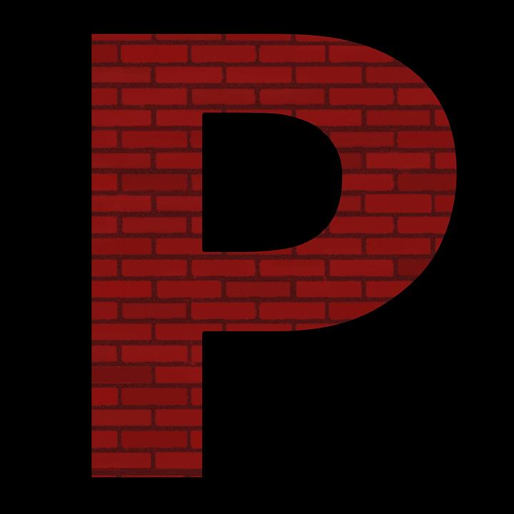 P Alphabet Letter Abc Transparent Font Words