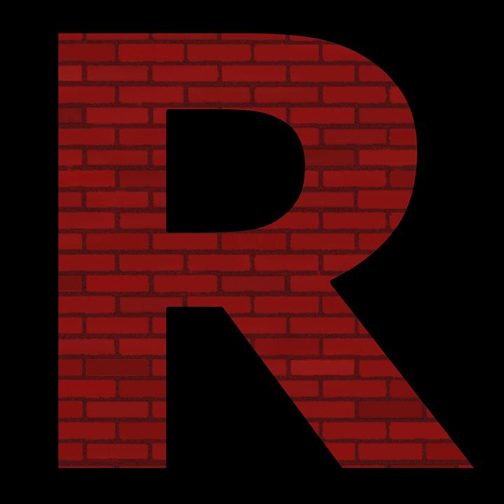 R Alphabet Letter   Free image on Pixabay