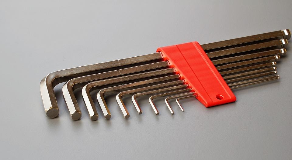 Allen Wrench, Tool, Allen Key, Allen, Screw, Attract