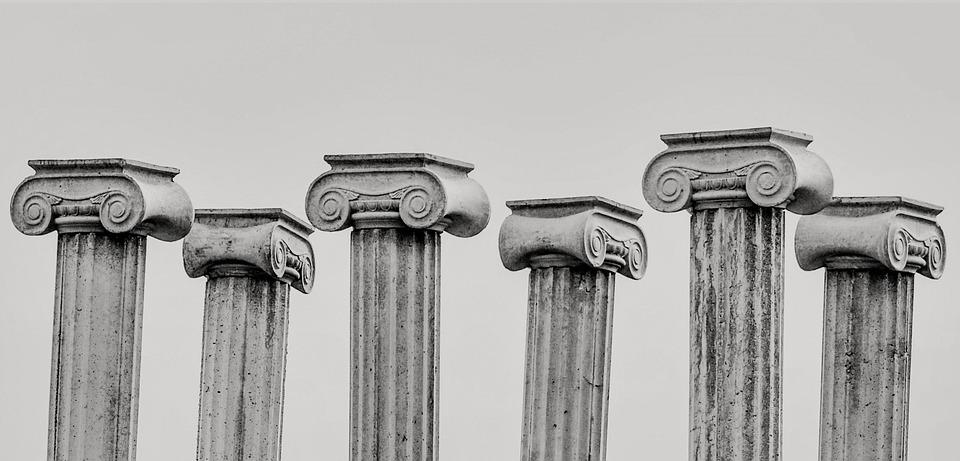 pillar capitals greek architecture free photo on pixabay